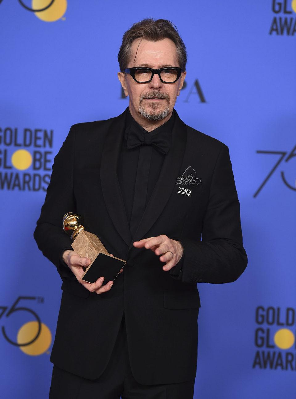 Gary Oldman ganador Globo de Oro mejor actor (drama)