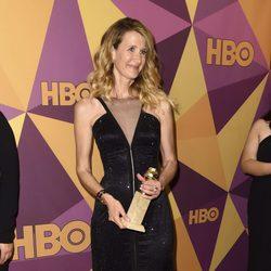 Laura Dern gana a mejor actriz de reparto en serie en los Globos de Oro 2018