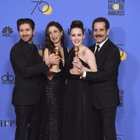 'The Marvelous Mrs. Maisel' gana Globo de Oro 2018 a la mejor serie - Comedia