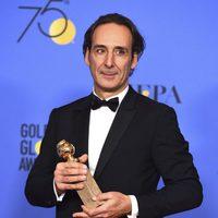 Alexander Desplat gana mejor música en los Globos de Oro 2018