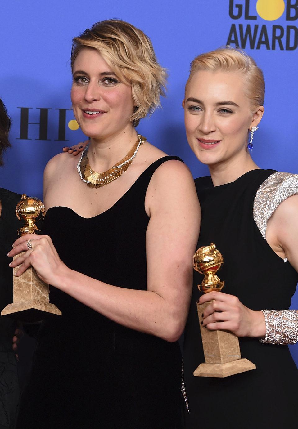 Lady bird ganadora Globo de Oro mejor película (comedia)