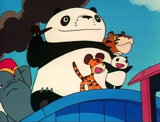 Las aventuras de Panda y sus amigos, fotograma 10 de 12