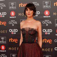 Belén Cuesta en la alfombra roja de los Premios Goya 2018