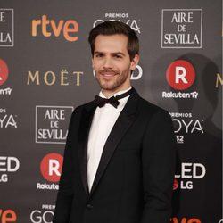Mac Clotet en la alfombra roja de los Premios Goya 2018