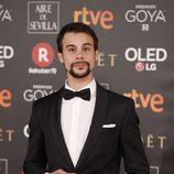 Ferrán Vilajosana en la alfombra roja de los Premios Goya 2018
