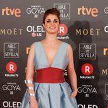 Ruth Gabriel en la alfombra roja de los Premios Goya 2018