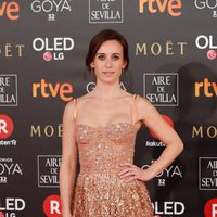 Marta Etura en la alfombra roja de los Premios Goya 2018