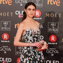 Sandra Escacena nominada a Actriz Revelación en la alfombra roja de los Premios Goya 2018