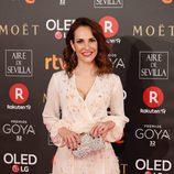 Paula Ortiz en la alfombra roja de los Premios Goya 2018
