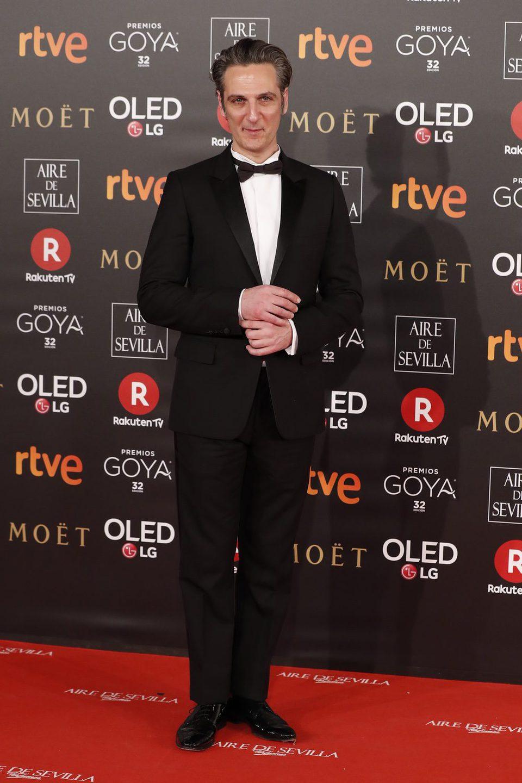 Ernesto Alterio en la alfombra roja de los Premios Goya 2018