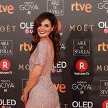 Marta Torné en la alfombra roja de los Premios Goya 2018