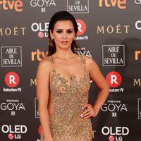 Mónica Cruz en la alfombra roja de los Premios Goya 2018