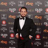 El Langui en la alfombra roja de los Premios Goya 2018