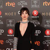Anna Castillo protagonista de 'La Llamada' en la alfombra roja de los Premios Goya 2018