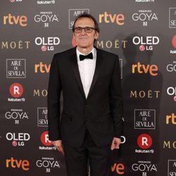 Alberto Iglesias en la alfombra roja de los Premios Goya 2018