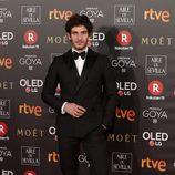 Quim Gutierrez en la alfombra roja de los Premios Goya 2018