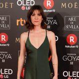 Bruna Cusi nominada a mejor Actriz Revelación, en la alfombra roja de los Premios Goya 2018