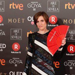 Carla Simón nominada a Mejor Dirección, en la alfombra roja de los Premios Goya 2018