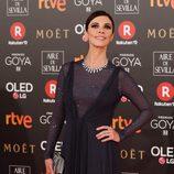 Maribel Verdú nominada a Mejor Actriz en la alfombra roja de los Premios Goya 2018