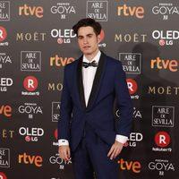 Goya Toledo en la alfombra roja de los Premios Goya 2018