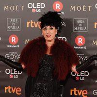 Rossy de Palma en la alfombra roja de los Premios Goya 2018