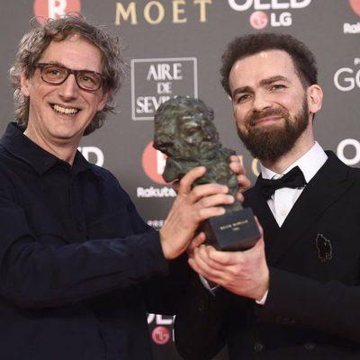 Laurent Dufreche y Raul Lopez ganadores del Goya a Mejor Montaje
