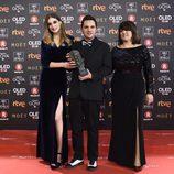 Laura Gost, Jaume Carrió y Aline Tur Goya a Mejor cortometraje de animación