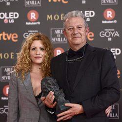 Laura Ferres, Goya al Mejor cortometraje documental, junto a su padre
