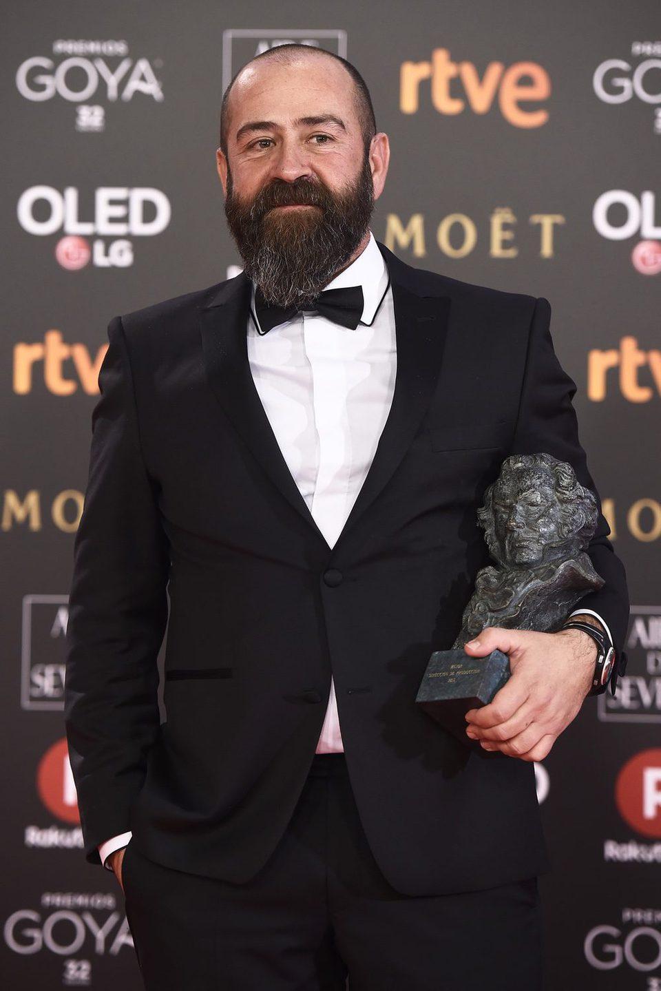 Ander Sistiaga, Goya 2018 a Mejor dirección de producción