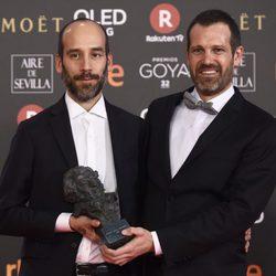 Aitor Arregi y Jose Mari Goenaga, Goya a Mejor guion original