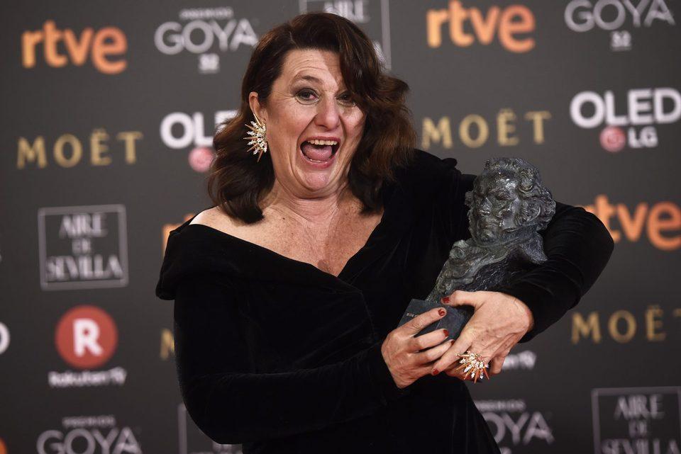 Adelfa Calvo, Goya a Mejor actriz de reparto