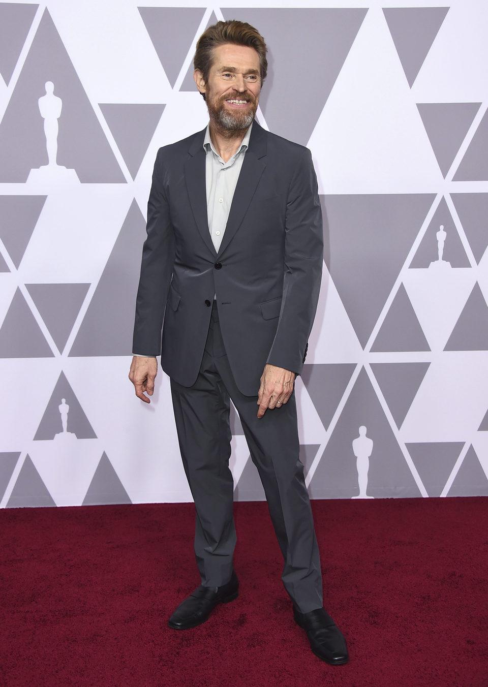 Willem Dafoe almuerzo nominados Oscar 2018