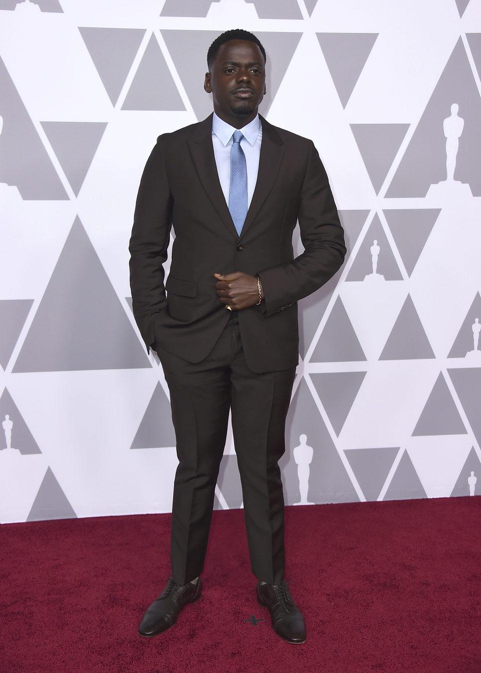 Daniel Kaluuya almuerzo nominados Oscar 2018