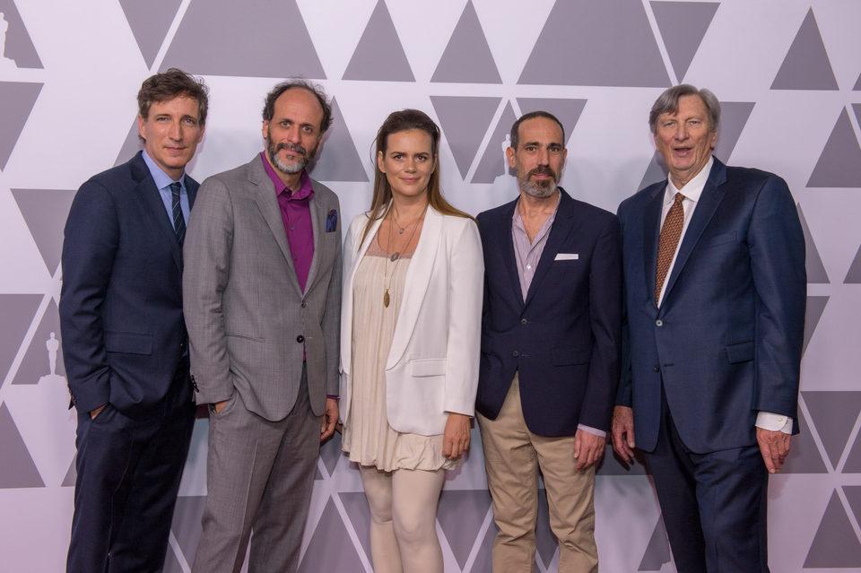 Luca Guadagnino almuerzo nominados Oscar 2018