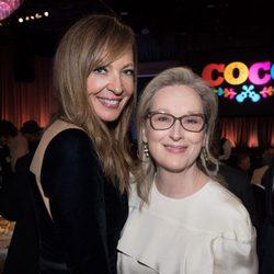 Meryl Streep y Allison Janney almuerzo nominados Oscar 2018
