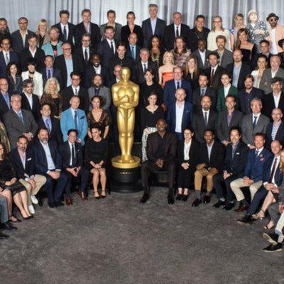 Foto grupo almuerzo nominados Oscar 2018