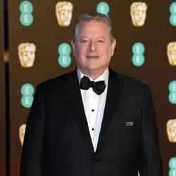 Al Gore en la alfombra roja de los BAFTA 2018