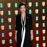 Kristin Scott Thomas en la alfombra roja de los BAFTA 2018