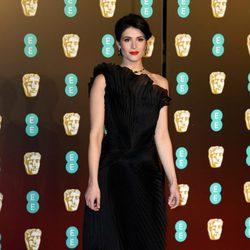 Gemma Arterton en la alfombra roja de los BAFTA 2018