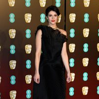 Gemma Arterton at the BAFTAs 2018 red carpet