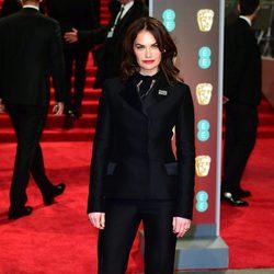 Ruth Wilson en la alfombra roja de los BAFTA 2018