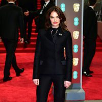 Ruth Wilson at the BAFTA Awards' 2018 red carpet