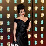 Helena Bonham Carter en la alfombra roja de los BAFTA 2018