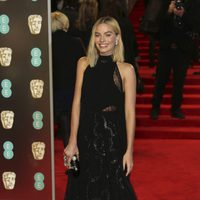 Margot Robbie at the BAFTA Awards' 2018 red carpet