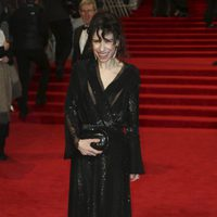 Sally Hawkins at the BAFTA Awards' 2018 red carpet