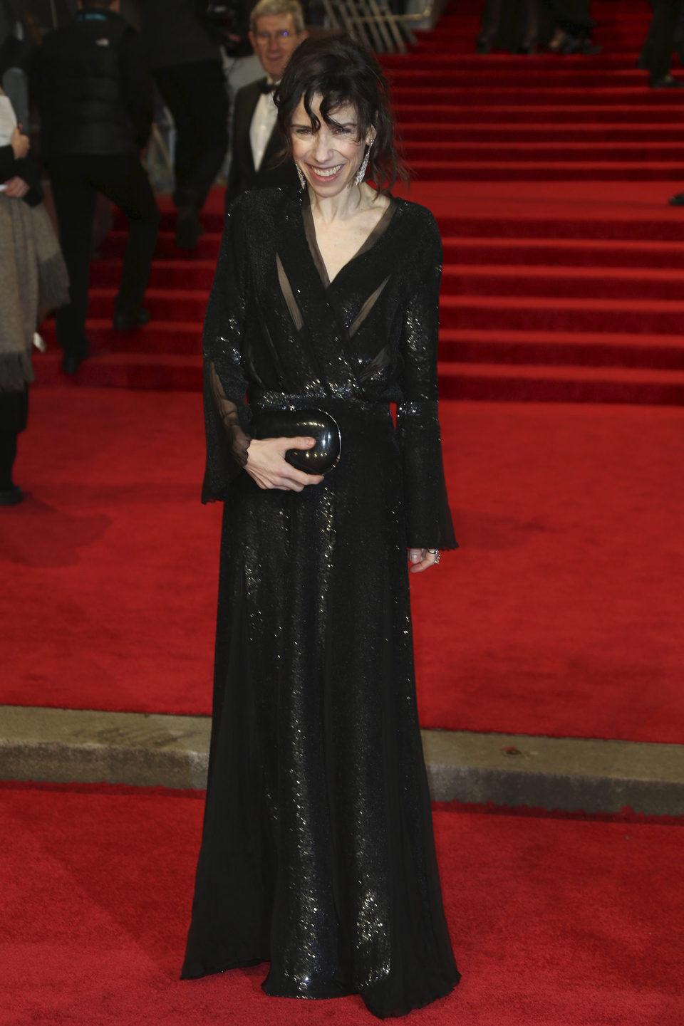 Sally Hawkins en la alfombra roja de los BAFTA 2018