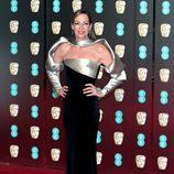Allison Janney en la alfombra roja de los BAFTA 2018