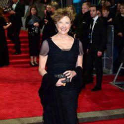 Annette Bening en la alfombra roja de los BAFTA 2018