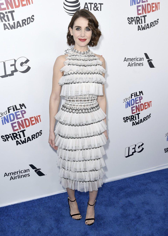 Alison Brie en los Spirit Awards 2018