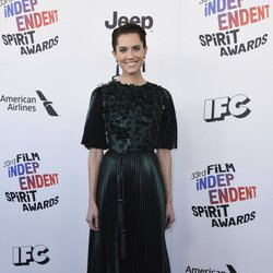 Allison Williams en los Spirit Awards 2018